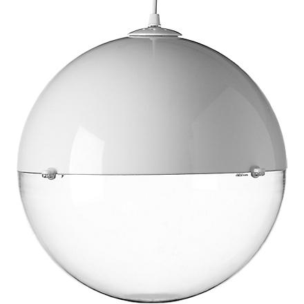 LIGHT SHOP Venus ball pendant white (White
