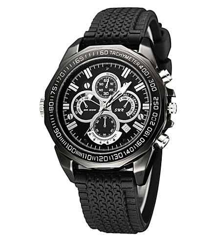 SPYMASTER Infra-Red Night-Vision camera watch (Black