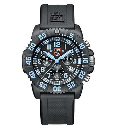 SPYMASTER Luminox 3083 Navy SEAL dive watch (Blue