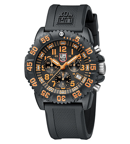SPYMASTER Luminox 3089 Original Navy Seals watch (Orange