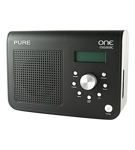 SPYMASTER Pure DAB radio and wi-fi camera (Black