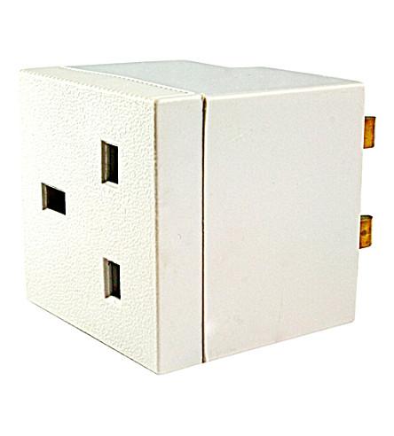 SPYMASTER Plug adaptor voice recorder (White
