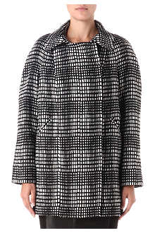 FRENCH CONNECTION Penelope Pop checked coat