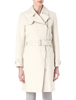 FRENCH CONNECTION Freeway cotton trench coat
