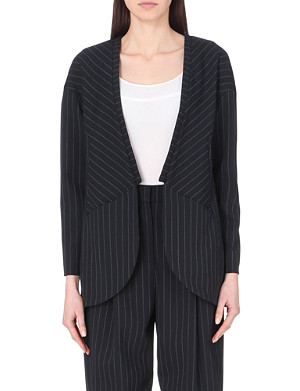 FRENCH CONNECTION Giant pinstriped blazer