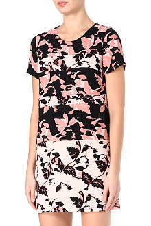 FRENCH CONNECTION Vine bloom tunic dress