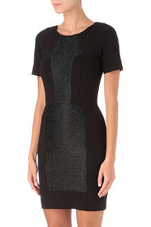 FRENCH CONNECTION Olivia lace-panel dress