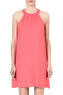 FRENCH CONNECTION Calla Collette halter dress