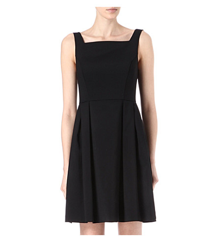FRENCH CONNECTION Poolside stretch-satin dress (Black