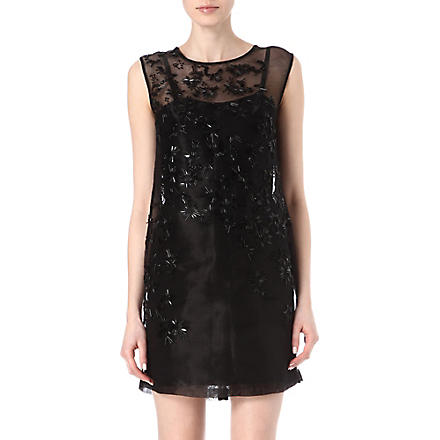 FRENCH CONNECTION Pollen party dress (Black