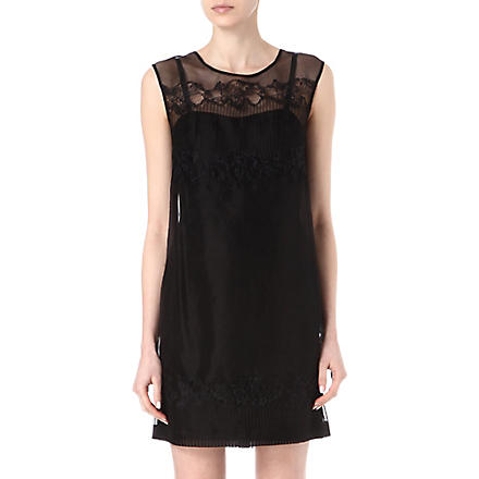 FRENCH CONNECTION Russo lace dress (Black