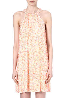 FRENCH CONNECTION Sweet Mix sequin halter dress