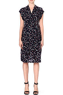 FRENCH CONNECTION Mini Belle wrap-effect dress