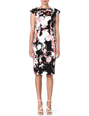 FRENCH CONNECTION Belle Garden structured dress