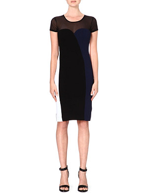 FRENCH CONNECTION Rio panelled dress