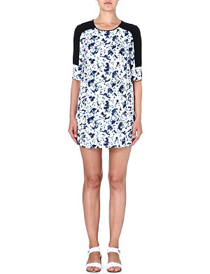 FRENCH CONNECTION Floral tunic dress