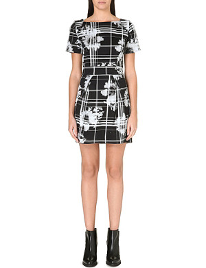 FRENCH CONNECTION Wilderness Check dress