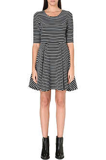 FRENCH CONNECTION Suki stripe dress