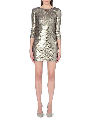 FRENCH CONNECTION Winter Wave sequin dress
