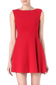 FRENCH CONNECTION Flared jersey dress