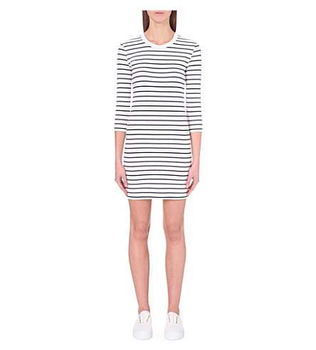 FRENCH CONNECTION Tim Tim cotton-blend dress (White