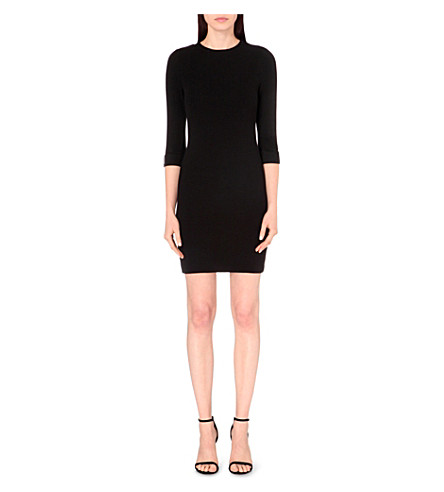 FRENCH CONNECTION Summer sudan stretch-knit dress (Black