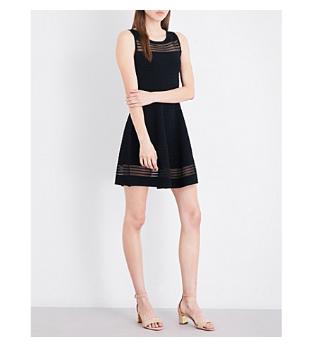 FRENCH CONNECTION Tobey stretch-knit dress (Black