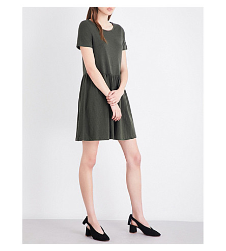 FRENCH CONNECTION Louis cotton-jersey dress (Green