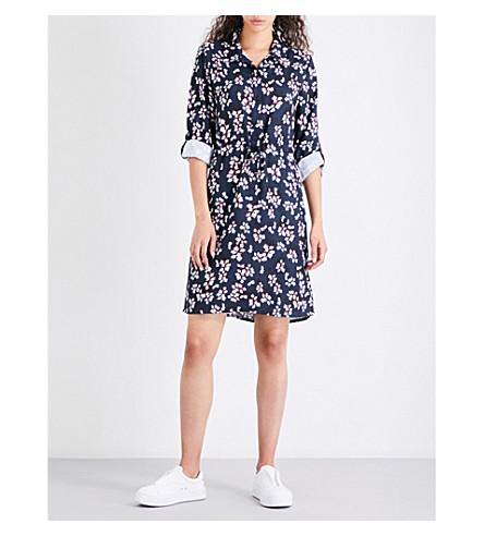 FRENCH CONNECTION Eva crepe shirt dress (Blue