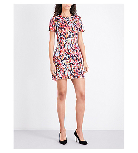 FRENCH CONNECTION Eleanor stretch-jersey dress (Redwood