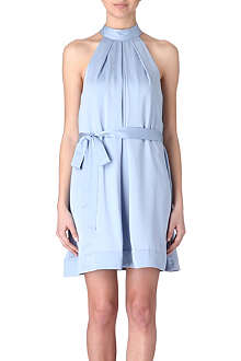 FRENCH CONNECTION Forever Draped halter dress