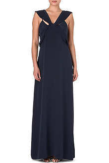 FRENCH CONNECTION She silk maxi dress