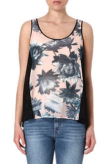 FRENCH CONNECTION Lily collage vest top