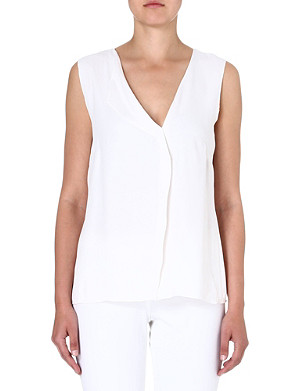 FRENCH CONNECTION Hannah crepe top