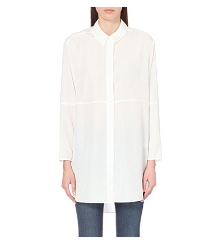 FRENCH CONNECTION Samantha oversized shirt (White