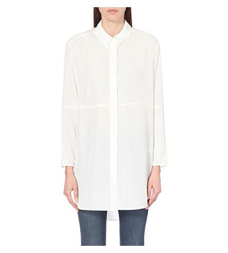 FRENCH CONNECTION Samantha oversized shirt (White