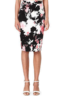 FRENCH CONNECTION Fast belle garden stretch-cotton pencil skirt