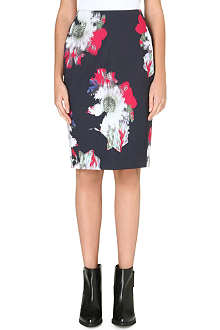 FRENCH CONNECTION Wilderness bloom pencil skirt