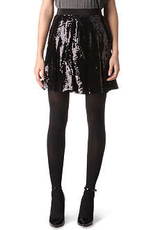 FRENCH CONNECTION Glacier sequinned skirt