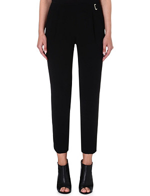 FRENCH CONNECTION Emmeline crepe trousers