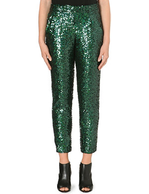 FRENCH CONNECTION Sirius sequinned trousers