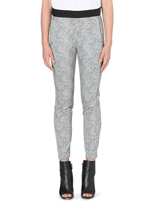 FRENCH CONNECTION Powdered pepper trouser