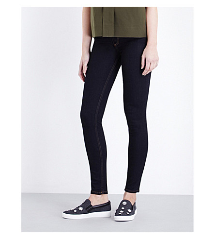 FRENCH CONNECTION Rebound skinny mid-rise jeans (Indigo