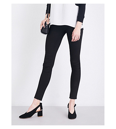 FRENCH CONNECTION Featherweight Rebound stretch-denim jeggings (Black