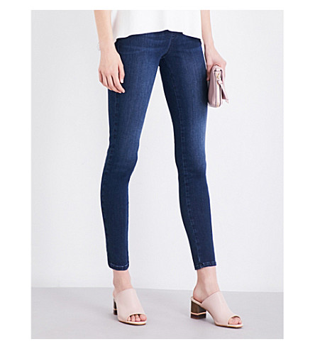 FRENCH CONNECTION Rebound skinny mid-rise jeans (Navy