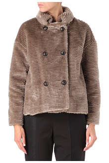 FRENCH CONNECTION Ripple faux-fur jacket