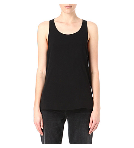 FRENCH CONNECTION Classic Polly Plains vest (Black