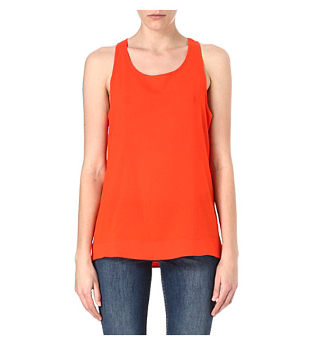 FRENCH CONNECTION Classic Polly Plains vest (Sierra
