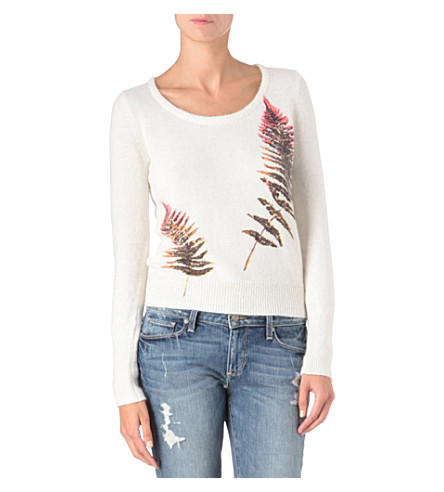 FRENCH CONNECTION Fern knitted jumper (Brule