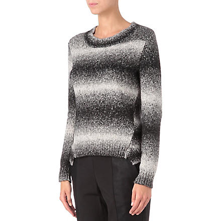 FRENCH CONNECTION Salt and Pepper jumper (Black/white